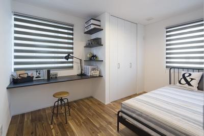 オシャレな子供部屋 (全館空調を採用したデザイナーズ住宅)