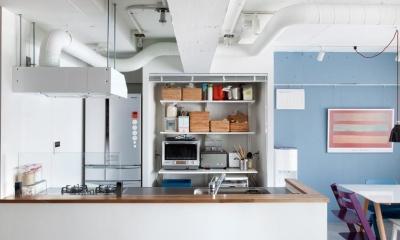 今と将来のライフスタイルを見つめて、センスと質を大切にしたコスパに満足のリノベーション。 (キッチン)