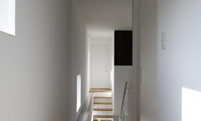 那須の家 (廊下)