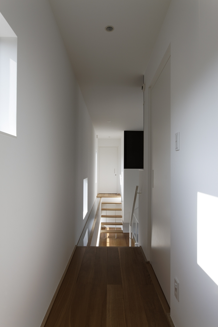 那須の家の部屋 廊下