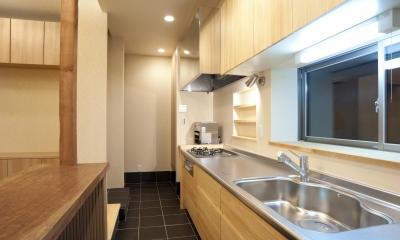 キッチン|和風旅館を思わせる家