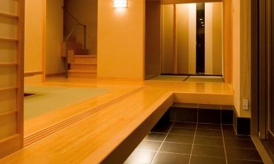 和風旅館を思わせる家