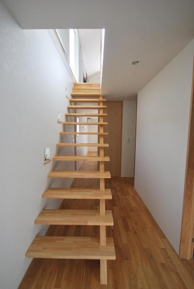 ストリップ階段 (逗子の海辺のスローライフ)