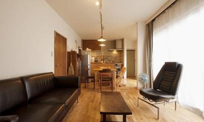 手づくりの家具で、自分流 (LDK)
