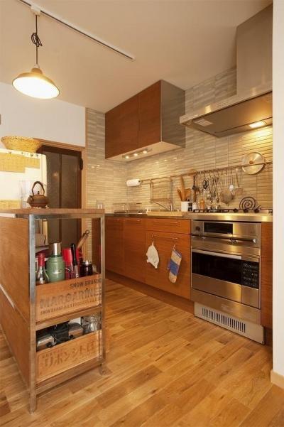 キッチン (手づくりの家具で、自分流)