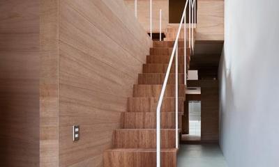玄関・階段|CASE 493 | 熊取の住宅