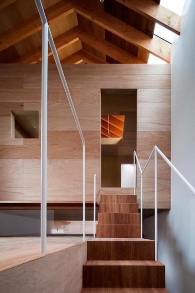 二階フロア (CASE 493 | 熊取の住宅)