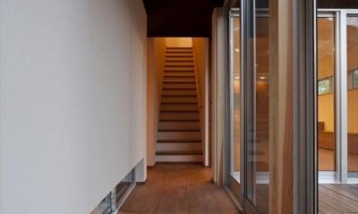 behavior (階段と廊下)