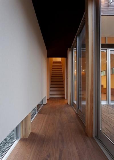 階段と廊下 (behavior)