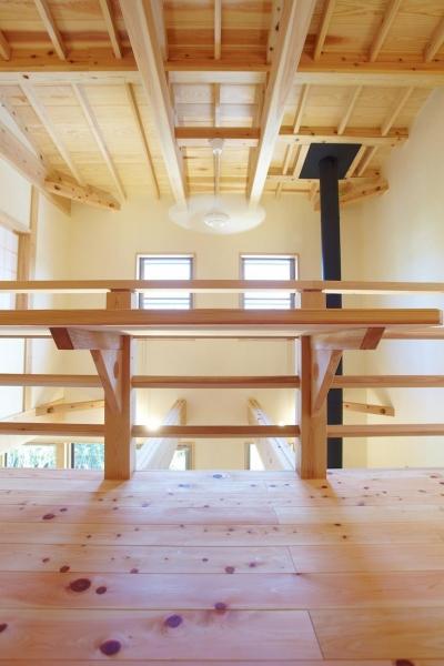 さくら 〜薪ストーブのある木の家〜 (フリースペース)