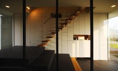 階段|海の家