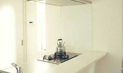 ペニンシュラ型キッチン|世田谷区 桜 NAVY HOUSE 1
