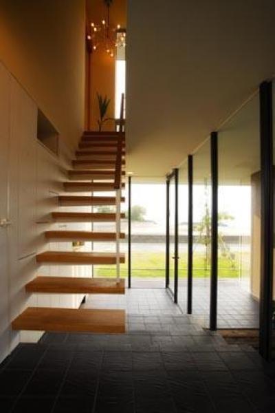 海の家 (階段)
