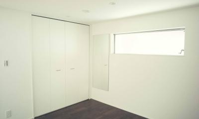 明るいベッドルーム|世田谷区 桜丘 NAVY HOUSE 2
