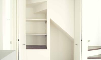 世田谷区 桜丘 NAVY HOUSE 2 (階段下の収納)