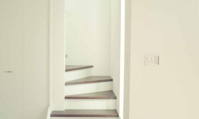 世田谷区 桜丘 NAVY HOUSE 2 (ロフトへの階段)