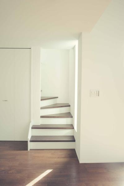 ロフトへの階段 (世田谷区 桜丘 NAVY HOUSE 2)