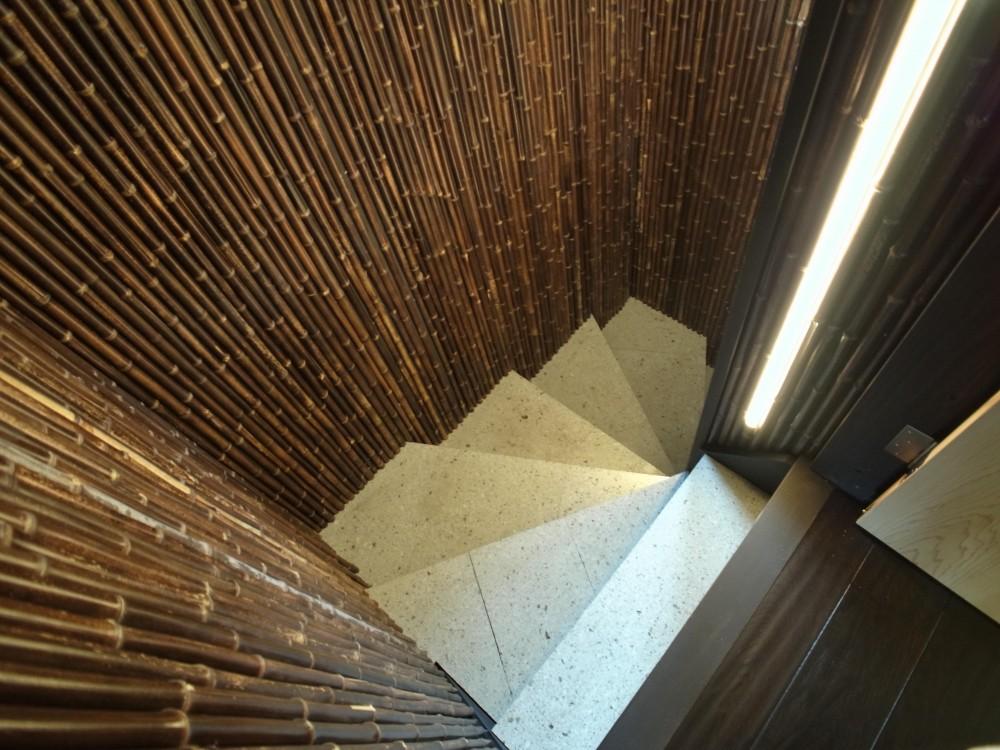 古民家再生の家 (階段)