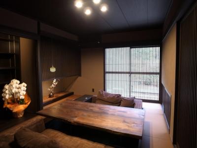 和室 (古民家再生の家)