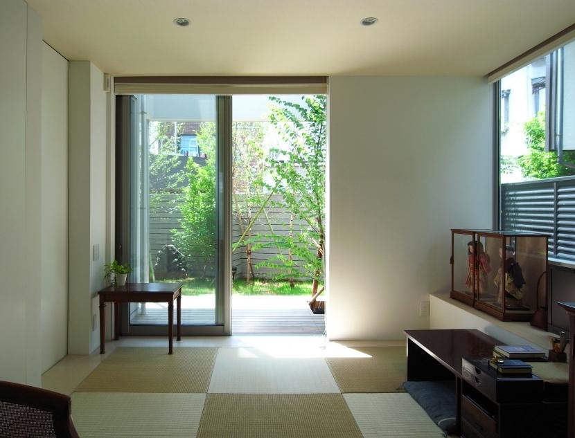 永福町の家の部屋 和室