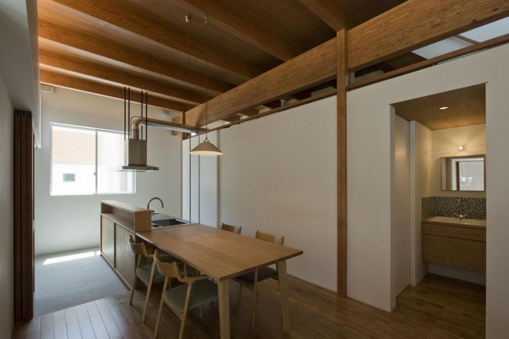 土田の家 (ダイニングキッチン)
