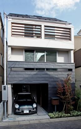 千駄木の家 (外観)
