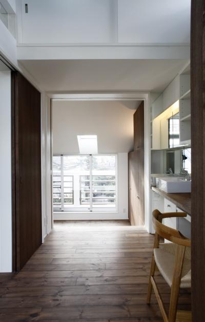 千駄木の家 (書斎・寝室)