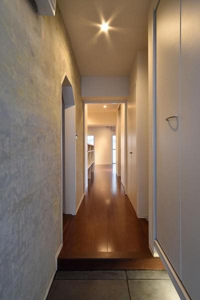 PADDING (廊下)