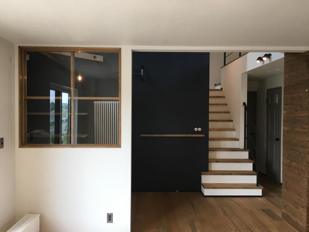 CASAXLABO戸建てリノベーション 札幌市K邸 (リビング)