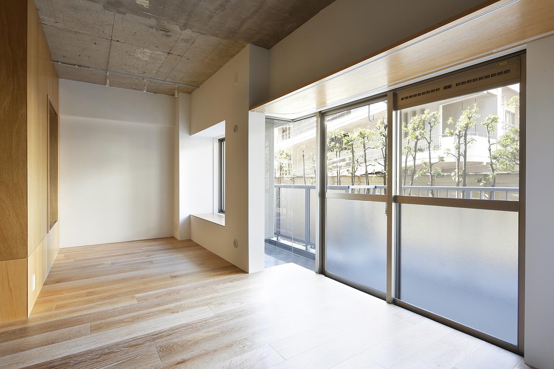 猿江の住宅の部屋 明るいリビング