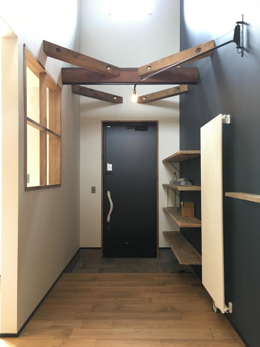 CASAXLABO戸建てリノベーション 札幌市K邸 (玄関)