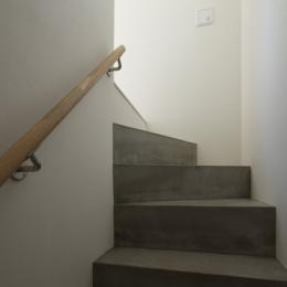 にしはらのながや (コンクリートの階段)
