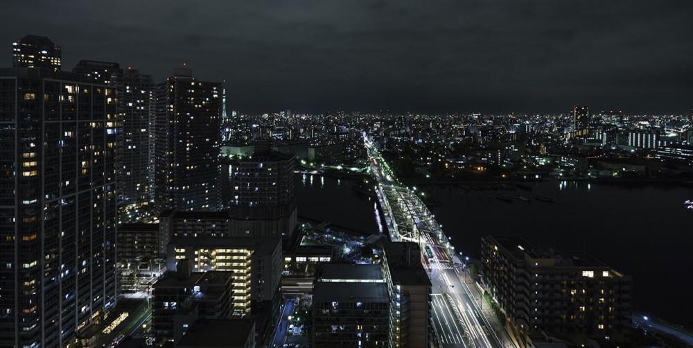 中央区佃 K 邸[タワーマンション リフォーム] (部屋からの眺望)