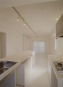 801号室 (食事をとれるカウンターキッチン)