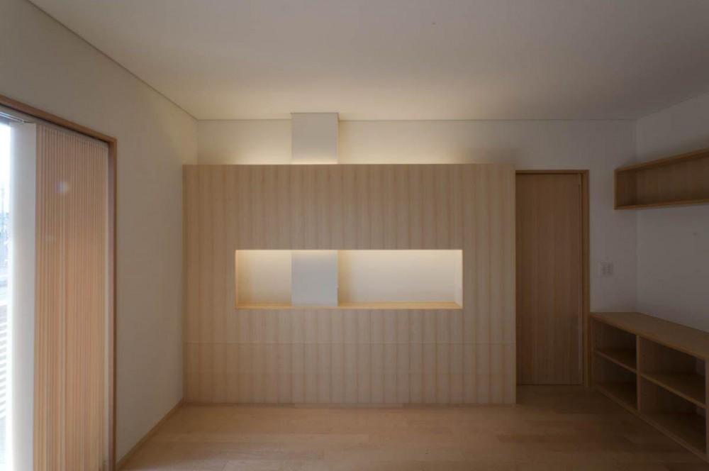 神田の家|自動車修理工場 併用 住宅 (寝室)