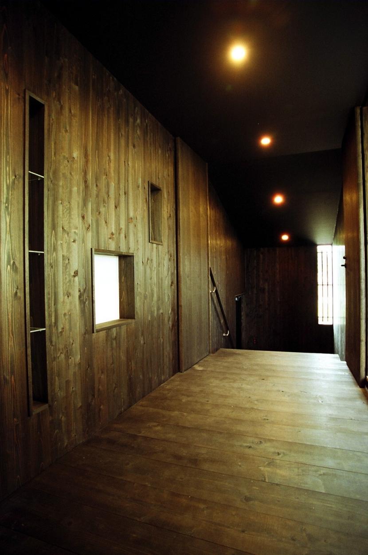 塩原の家の部屋 土間