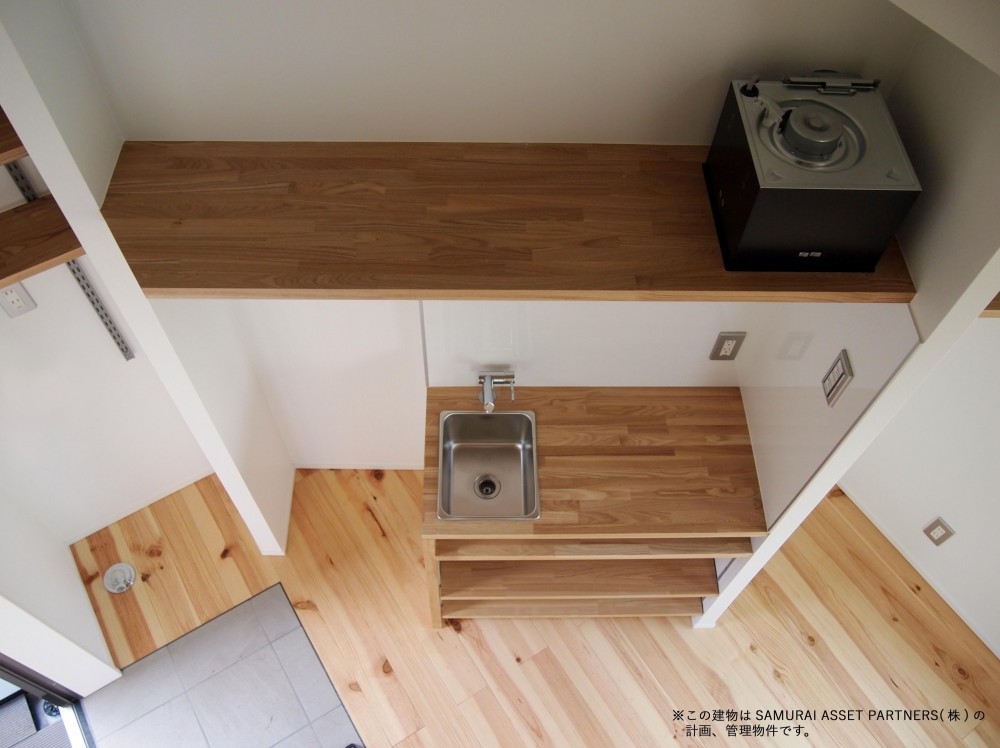 板橋区の共同住宅 (造作ミニキッチン)