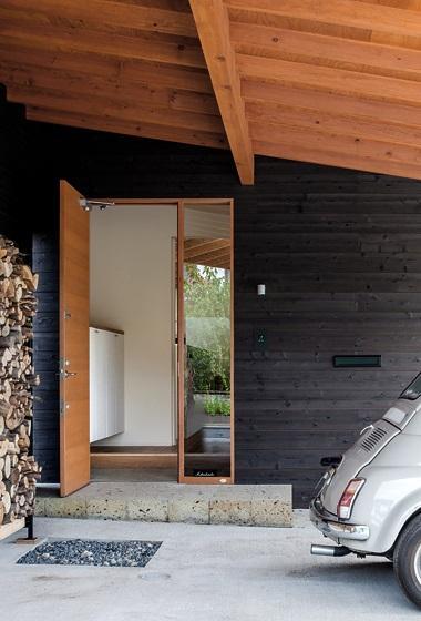 緩斜面の家 [2013]の写真 玄関