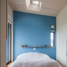 緩斜面の家 [2013] (ベッドルーム)