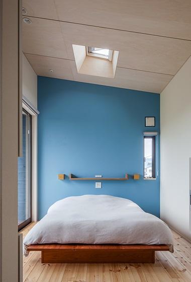 緩斜面の家 [2013]の写真 ベッドルーム