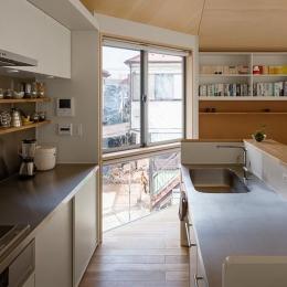 シンプルなキッチン
