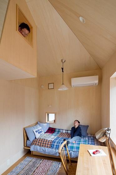 トンガリの家 [2014]の部屋 子供部屋