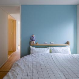 トンガリの家 [2014]-ベッドルーム