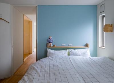 トンガリの家 [2014] (ベッドルーム)