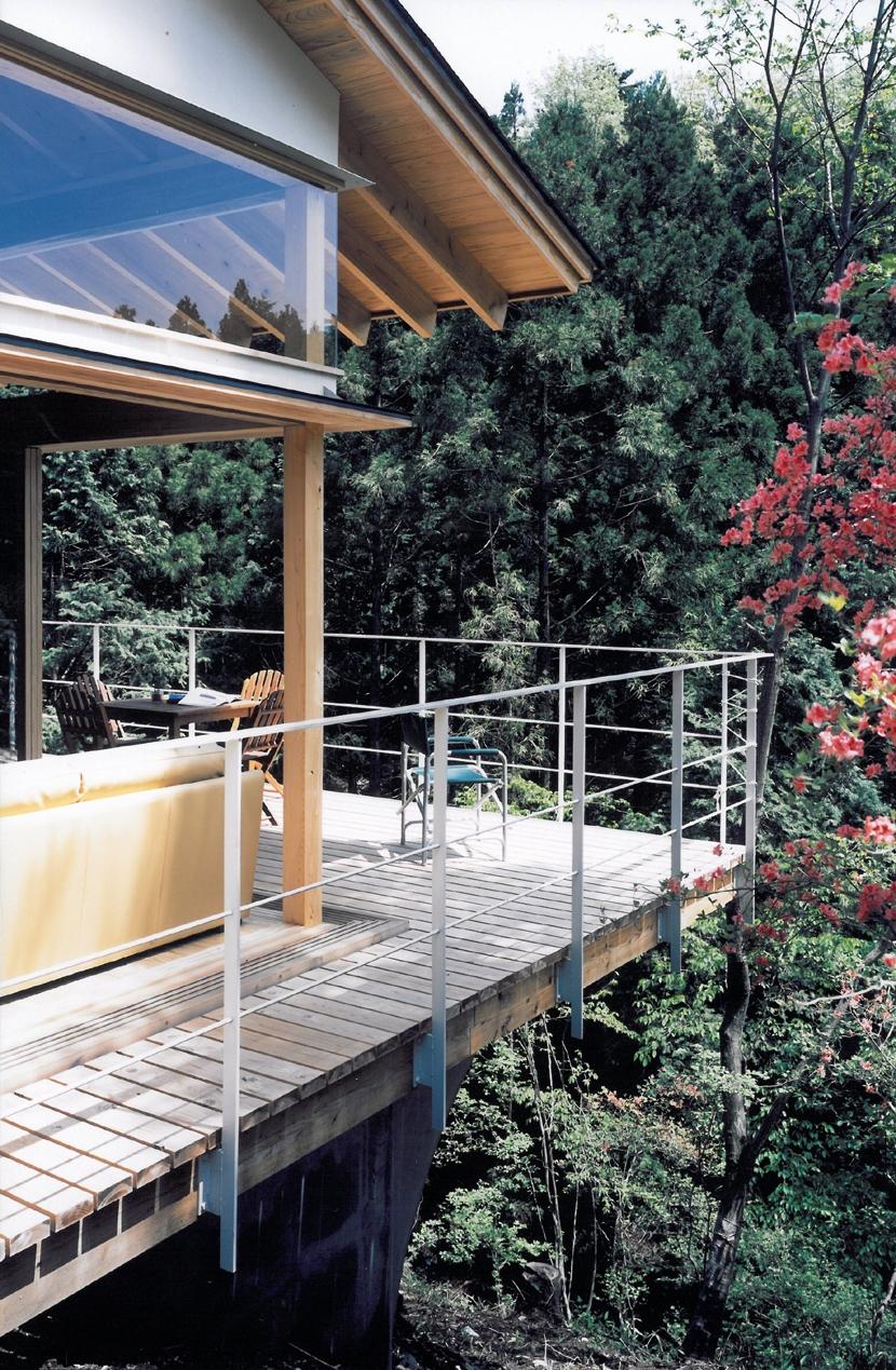001日光Sさんの家の写真 外観テラス