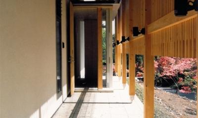 001日光Sさんの家 (玄関ポーチ)