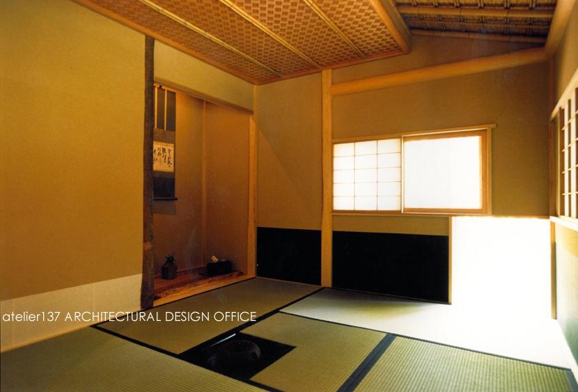 001日光Sさんの家の写真 お茶室