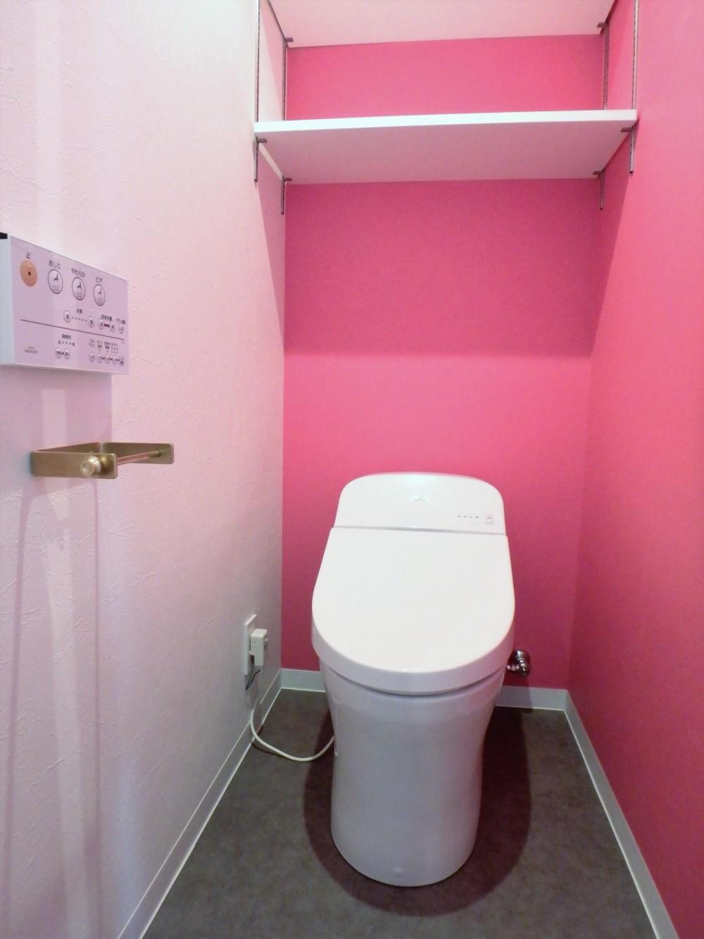 細部までこだわったフルリノベーション M様邸 (トイレ)
