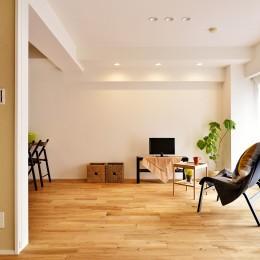 横浜市A様邸 ~利便性のよいマンションでリラックス空間を~