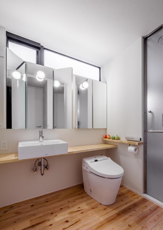 日野の家 (洗面+トイレ)